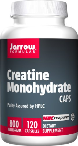 SHIP BY USPS: Jarrow Formulas Creatine Monohydrate Caps, Sports Nutrition, 800 mg, 120 Caps