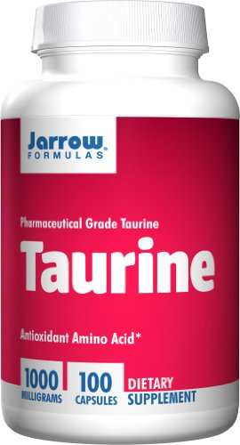 SHIP BY USPS: Jarrow Formulas - Taurine, 1000 mg, 100 capsules