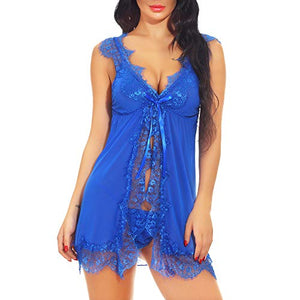 Plus Size Lingerie Babydoll Set for Women