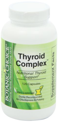 SHIP BY USPS: Botanic Choice Thyroid Complex, 120 Capsules
