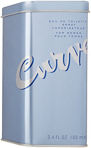 SHIP BY USPS Curve By Liz Claiborne For Women. Eau De Toilette Spray 3.4 Ounces