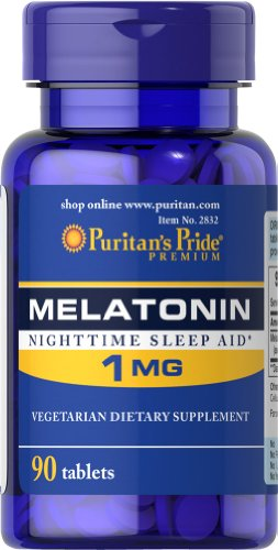 Melatonin 1 mg-90 Tablets