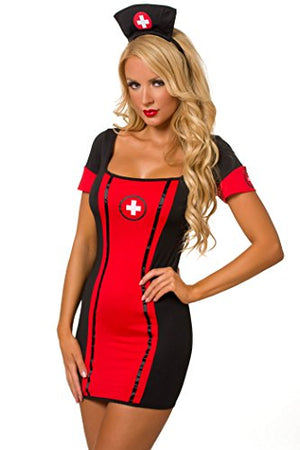 Sexy Night Nurse Costume #3276