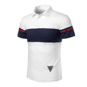 Men's Business Short Sleeve T-Shirt Polo