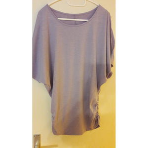 New Cotton T-shirt Women Hot Tops Round Neck Bat Sleeve Tops T Shirt Casual Shirt