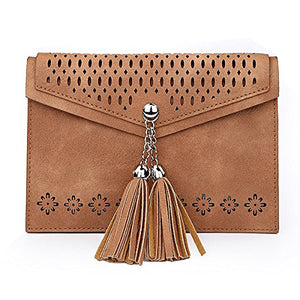 Small Crossbody Bag for Women , seOSTO Tassel Cell Phone Purse Wallet Bags Handbag Purse