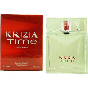 SHIP BY USPS Krizia Time By Krizia For Women. Eau De Toilette Spray 2.5 Ounces