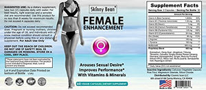 SHIP BY USPS: Skinny Bean® Sexual Enhancement pill for Women is a Female Libido Enhancer for Women. Used for Sex Drive and...