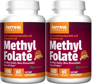 SHIP BY USPS: Jarrow Formulas Methyl Folate 5-MTHF Nutritional...