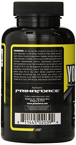 SHIP BY USPS Primaforce Supplement, Yohimbine Capsules- Weight Loss Supplement, Improve Cognitive Performance, Sexual...