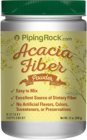 Acacia Fiber Powder 12 oz (340 g) Bottle Dietary Supplement