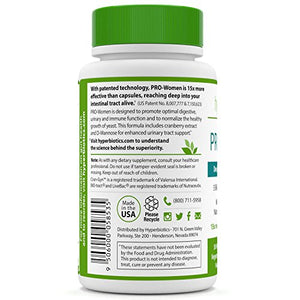 SHIP BY USPS PRO-Women: Probiotics for Women with Cranberry Extract & 100% Naturally-Occurring D-Mannose - 15x More...