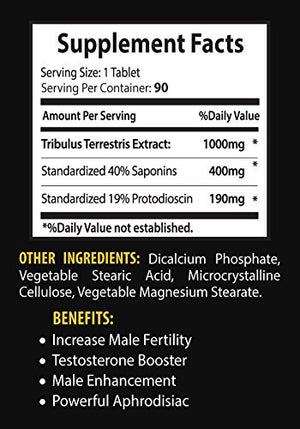 Sexual enhancement pills natural - TRIBULUS TERRESTRIS EXTRACT 1000Mg - Tribulus supplements for...