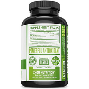 SHIP BY USPS Green Tea Extract Supplement with EGCG for Weight Loss - Boost Metabolism & Promote a Healthy Heart - Natural...