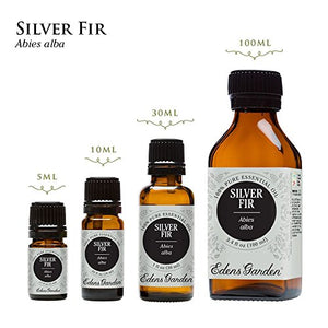 SHIP BY USPS Silver Fir 100% Pure Therapeutic Grade Essential Oil by Edens Garden- 5 ml