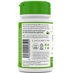 SHIP BY USPS Hyperbiotics PRO-15 Probiotics - 60 Daily Time Release Pearls - 15x More Effective than Probiotic Capsules with...