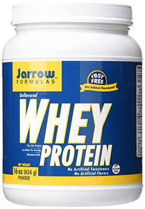 SHIP BY USPS: Jarrow Formulas Whey Protein, Supports Muscle...16 oz