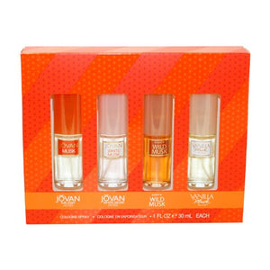 SHIP BY USPS Coty Omni Collection Perfume by Coty for Women. 4 Pc. Gift Set