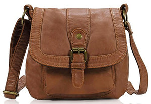 SHIP BY USPS: Scarleton Small Soft Washed Front Pocket Crossbody Bag H1692