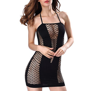 Sexy Lingerie, Cozime Women Lace Halter One Piece Teddy Babydoll Bodysuit