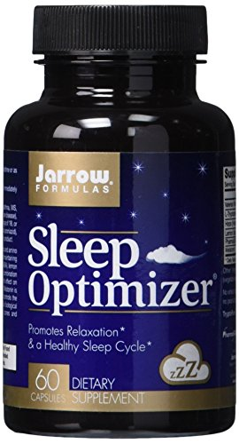 SHIP BY USPS: Jarrow Formulas Sleep Optimizer, Promotes Relaxation  & a Healthy Sleep Cycle, 60 Caps