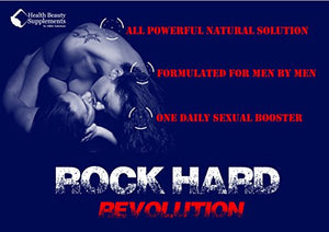 SHIP BY USPS * ROCK HARD REVOLUTION * male libido booster - male libido enhancement - male libido supplement - male...