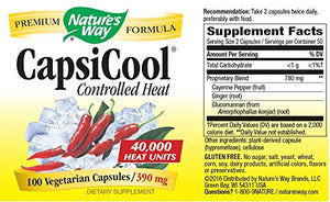 SHIP BY USPS: Nature's Way Capsicool Capsules, 100-Count