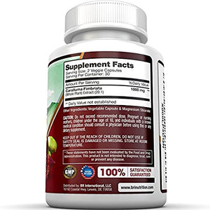SHIP BY USPS BRI Nutrition Caralluma Fimbriata - 20:1 Extract Maximum Strength Supplement - Made From Pure Indian...