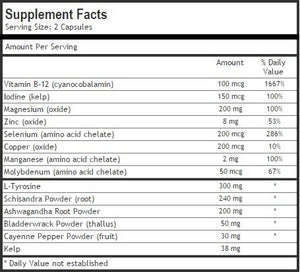 SHIP BY USPS: Thyroid Support Supplement ★ Pure High Strength Blend for Effective Weight Loss and Energy Boost ★ #1...