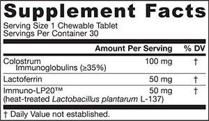 SHIP BY USPS: Jarrow Formulas Supports Healthy Immune Function Chewables, Pineapple, 30 Count