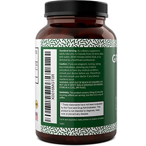 SHIP BY USPS: Green Coffee Bean – Natural And Potent Weight Loss Pills For Men And Women – Burn Belly Fat –...