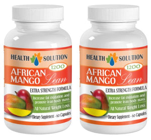Pure african mango cleanse - AFRICAN MANGO LEAN Extra strength Formula 1200mg - Healthy weight...