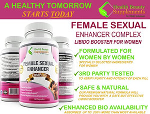 SHIP BY USPS: * MEGA * FEMALE LIBIDO BOOSTER – 1 Bottle 60 capsules - Supports – FEMALE LIBIDO ENHANCEMENT – Supports – FEMALE SEX DRIVE –...