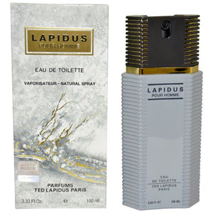 SHIP BY USPS Lapidus By Ted Lapidus For Men. Eau De Toilette Spray 3.3 Ounces