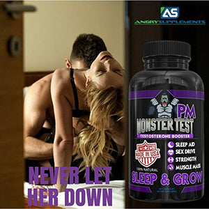 Testosterone Booster Plus Sleep Aid-Jack T-Levels Naturally. Formulated In the USA to speed up Recovery....