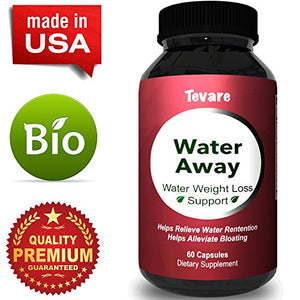 Premium Water Pills Diuretic Natural & Pure Dietary Supplement for Water Retention Relief Weight loss Detox Cleanse for...