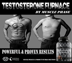 SHIP BY USPS: 1 Bottle * ANABOLIC * TESTOSTERONE FURNACE - Testosterone Booster For Muscle Growth - Testosterone Booster For...
