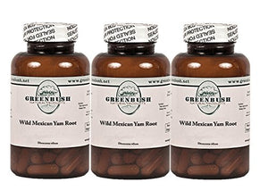 3 Pack Wild Yam Root 100 Vegetarian Capsules 575mg. Top Quality and Potency, No Additives. For...