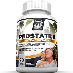 SHIP BY USPS BRI Prostate8 - Prostate Health Formula With Vitamins and Minerals – Potent Urinary Function Supplement - 90...