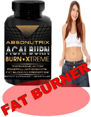 [2 Bottles] - Absonutrix Acai Burn X.treme - The Most Healthy Way to Weight Loss