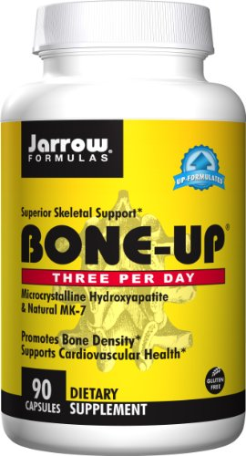SHIP BY USPS: Jarrow Formulas Bone-Up Three Per Day, Promotes Bone Density, 90 Caps