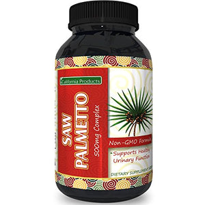 SHIP BY USPS: Pure Saw Palmetto Extract For Healthy Prostate Gland – Antioxidant Men's Health Supplement...
