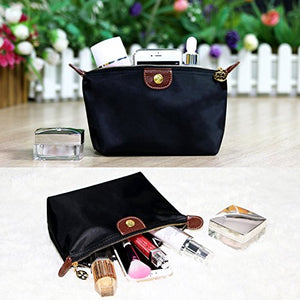 SHIP BY USPS: Bestrice Cosmetic Bag Portable Travel Makeup Bag Black