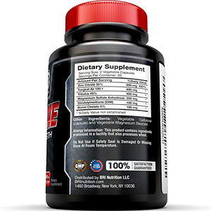 SHIP BY USPS BRI Nutrition Testrone Supplement 60 counts With Diindolylmethane, Tongkat Ali, Tribulus Terrestris, Magnesium Sulfate...