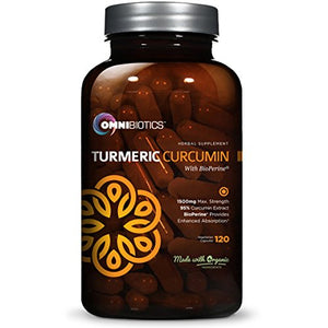 SHIP BY USPS Organic Turmeric Curcumin Supplement 1500mg with BioPerine | 95% Standardized Curcuminoid Extract & Organic...