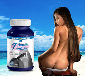 Sarsaparilla root organic - FEMALE FANTASY - increase strength and libido (1 bottle)