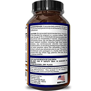 SHIP BY USPS: Horny Goat Weed Supplement for Women & Men - Natural Energy Booster Pills for Stamina and Performance - Pure...