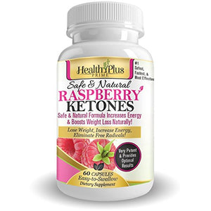 SHIP BY USPS Raspberry Ketones for Maximum, 60 capsules Best 100% Pure Natural Weight Loss! #1 to Suppress Appetite & Stop Overeating,...