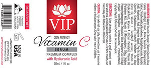 Anti aging wrinkle serum - VITAMIN C SERUM PREMIUM COMPLEX With Hyaluronic Acid (20% Potency) - Face skin...