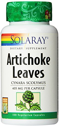 SHIP BY USPS: Solaray Artichoke Leaves, 405 mg, 100 Count